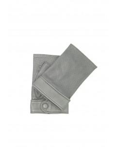 Manicotto 2Bt in Nappa traforata Grigio/perla Sermoneta Gloves