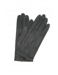 Nappa leather gloves unlined Navy Sermoneta Gloves Leather