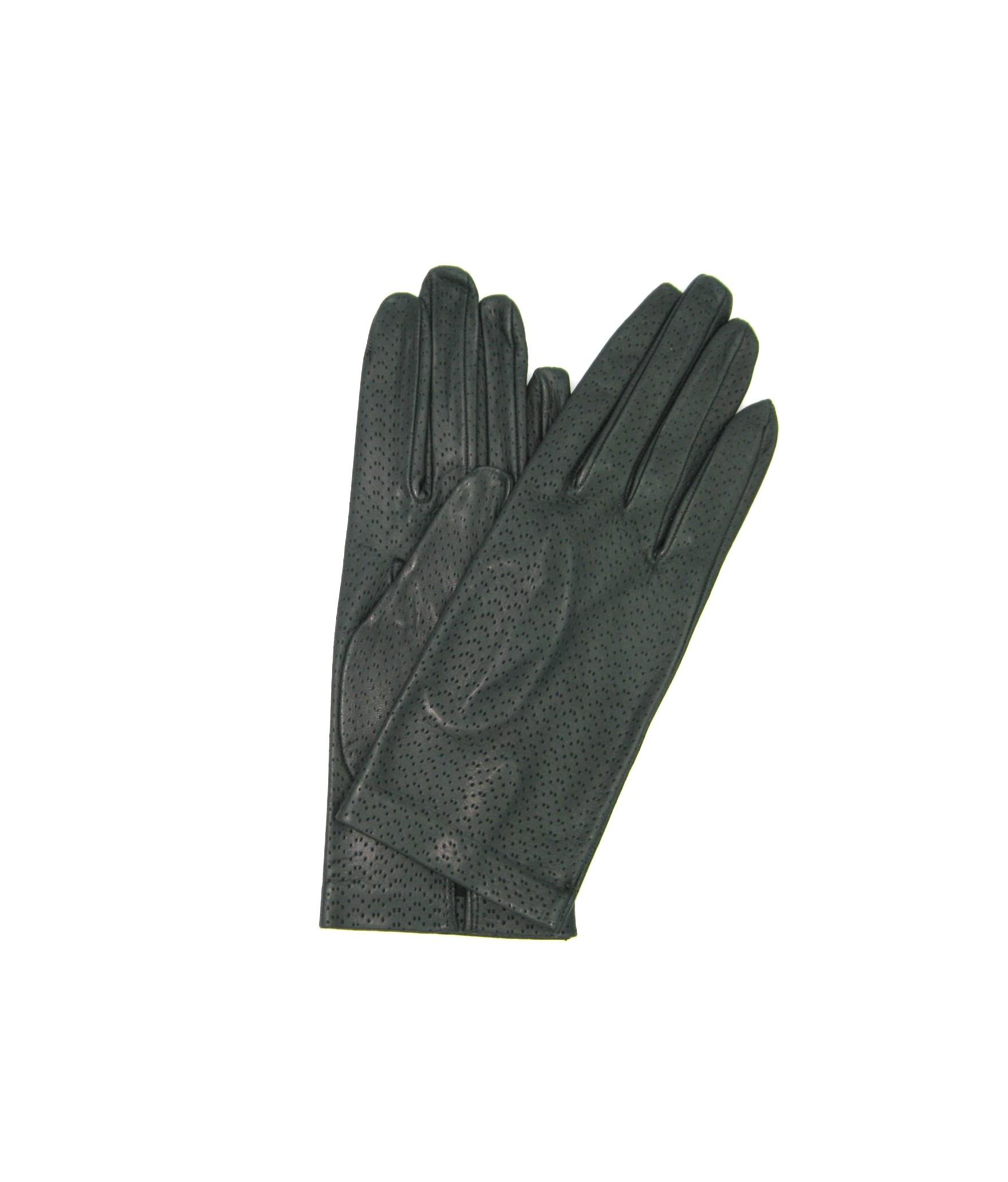 Guanto Nappa sfoderato Verde scuro Sermoneta Gloves Guanti in