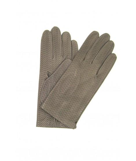 Nappa glove unlined toupe Sermoneta Gloves Leather