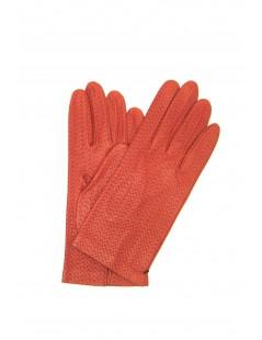 Guanto Nappa sfoderato Arancio scuro Sermoneta Gloves Guanti in