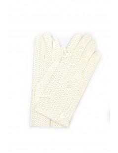 Guanto Nappa sfoderato Bianco Sermoneta Gloves Guanti in Pelle