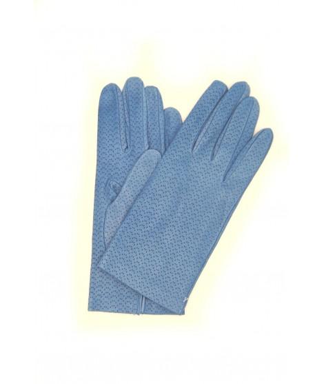 Nappa gloves unlined col. denim Sermoneta Gloves Leather