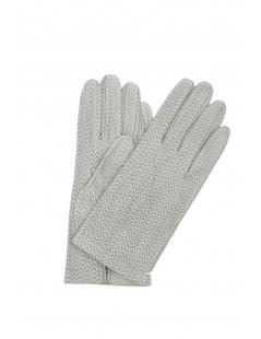 Guanto Nappa sfoderato grigio perla Sermoneta Gloves Guanti in