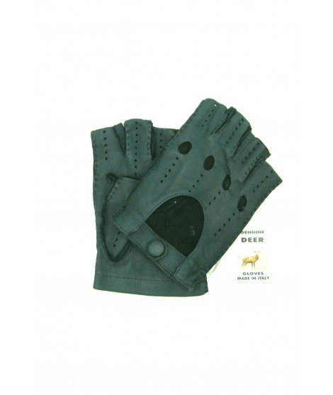 Guanto Guida di Cervo 1/2 dita Verde Sermoneta Gloves Guanti in