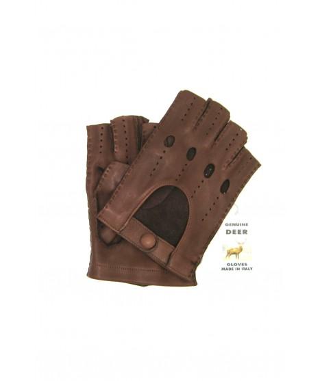 Guanto Guida di Cervo 1/2 dita Cork Sermoneta Gloves Guanti in