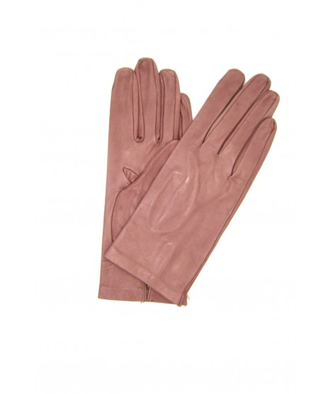 Nappa leather gloves 2bt unlined Old Pink Sermoneta Gloves