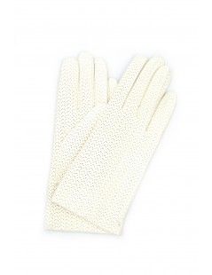 Guanto Nappa 2bt foderato cashmere Bianco Sermoneta Gloves