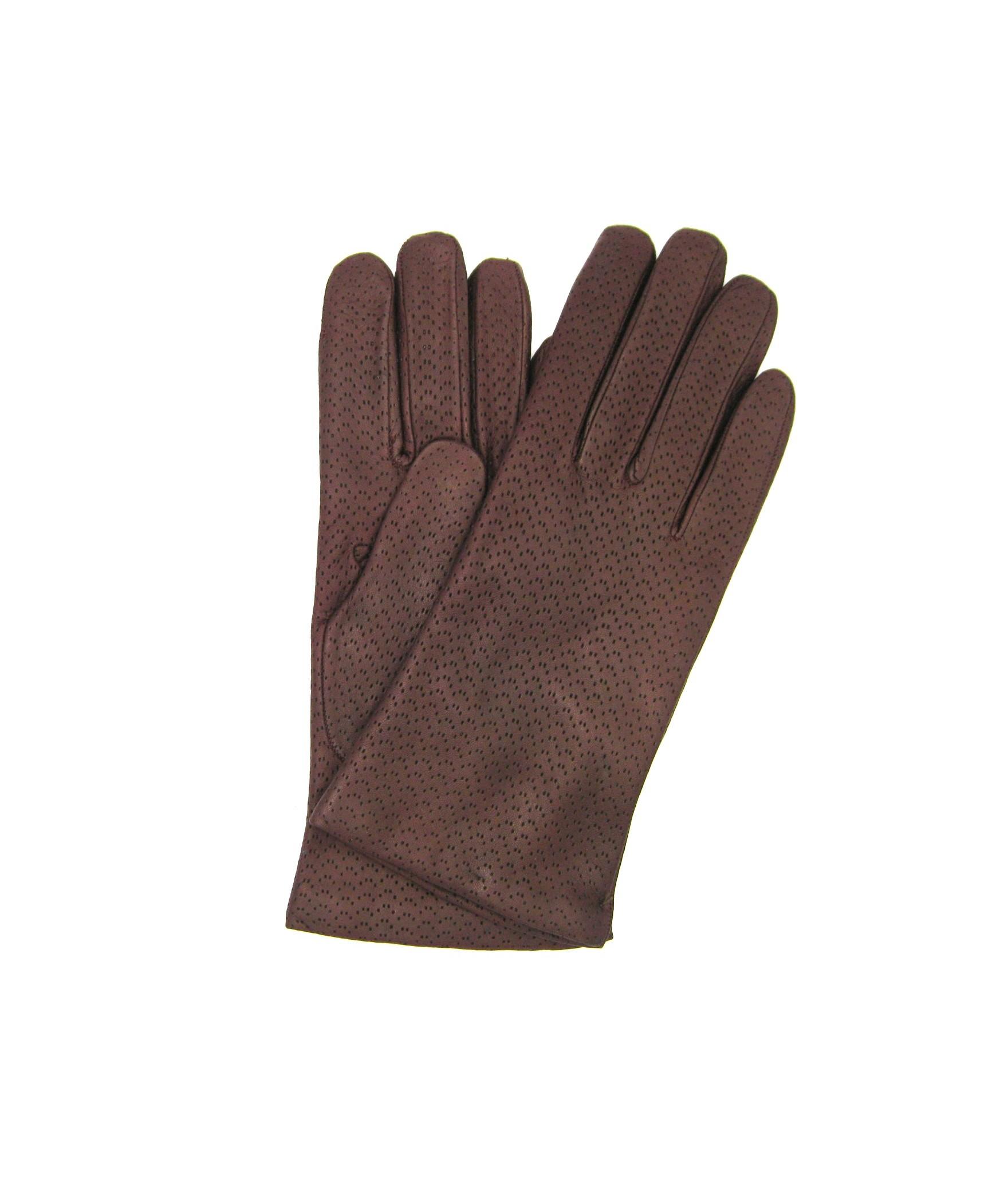 Guanto Nappa 2bt foderato cashmere Bordeaux Sermoneta Gloves