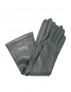 Nappa leather gloves 10bt silk lined Dark Green Sermoneta