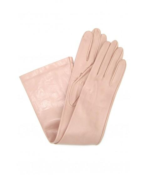 Nappa leather gloves 10bt silk lined Nude Sermoneta Gloves