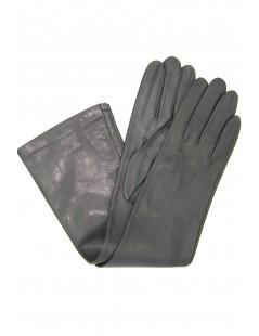 Guanto Nappa 10bt foderato seta Grigio scuro Sermoneta Gloves