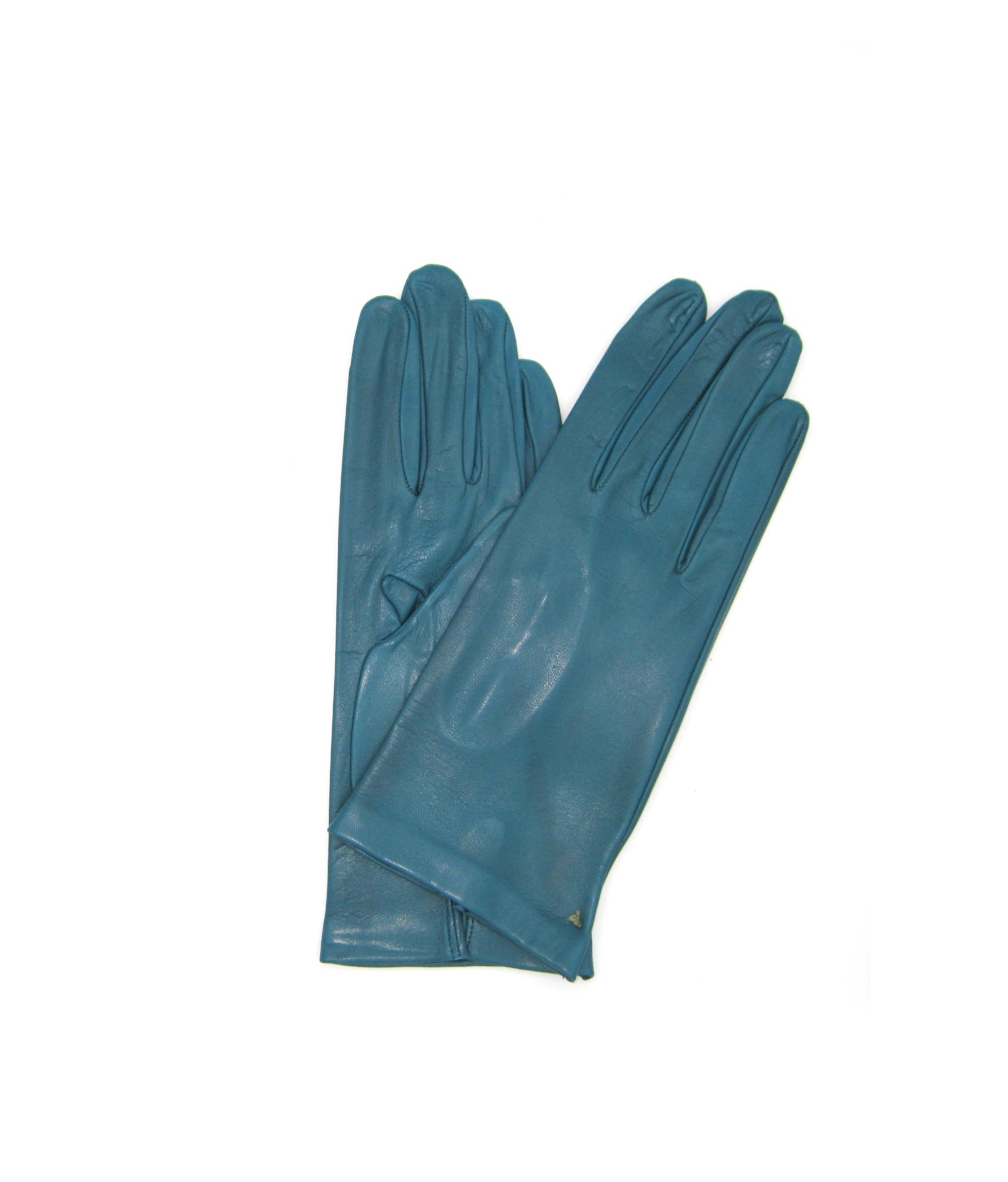Nappa leather gloves 2bt unlined Petroleum Sermoneta Gloves