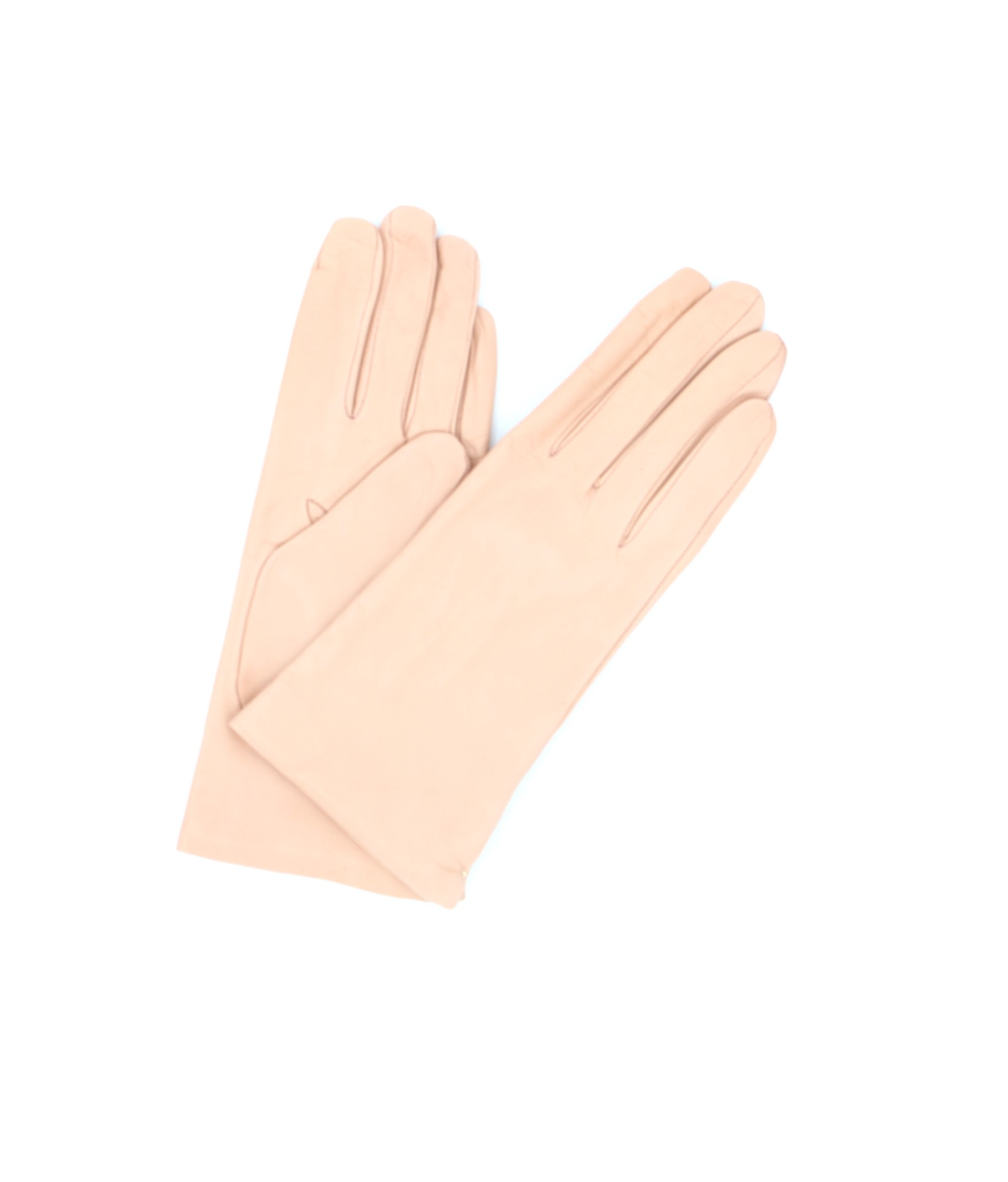 Nappa leather gloves Cashmere lined Nude Sermoneta Gloves