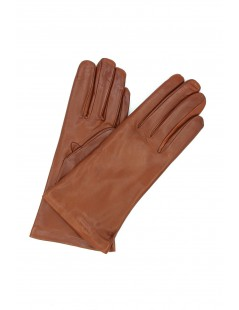 Nappa leather gloves Cashmere lined Cognac Sermoneta Gloves