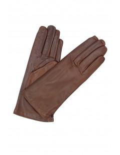 Nappa leather gloves Cashmere lined Mink Sermoneta Gloves
