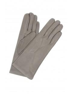 Nappa leather gloves 4bt lined Silk Mud Sermoneta Gloves