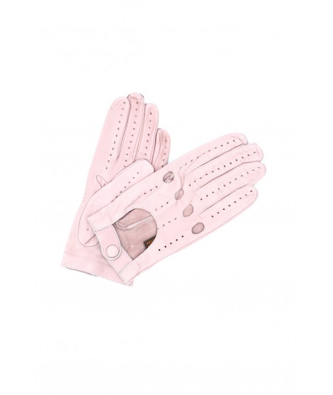 Driving gloves in Nappa Leather Nude Sermoneta Gloves Leather