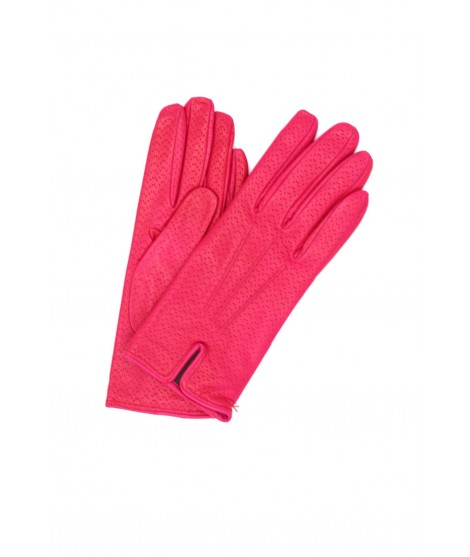 Nappa leather gloves cashmere lined Fuchsia Sermoneta Gloves