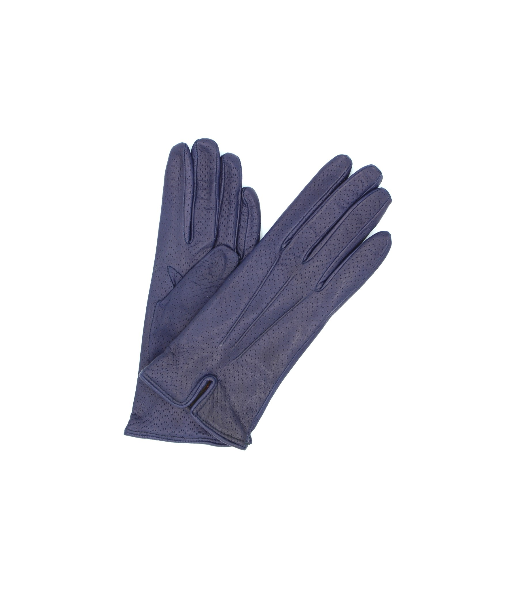 Nappa leather gloves cashmere lined Ink Blue Sermoneta Gloves