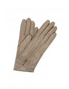 Nappa leather gloves cashmere lined Mud Sermoneta Gloves