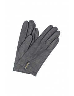 Nappa glove lined Cashmere Navy Sermoneta Gloves Leather