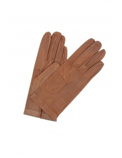 Nappa leather gloves unlined Mink Sermoneta Gloves Leather