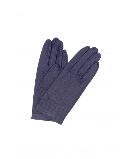 Nappa leather gloves unlined Ink Blue Sermoneta Gloves Leather