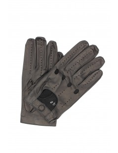 Driving gloves in Nappa leather Black Sermoneta Gloves Leather