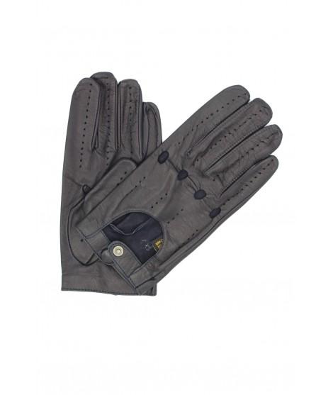 Guanto da Guida in Nappa dita intere Navy Sermoneta Gloves