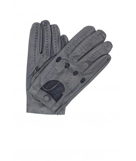 Guanto da Guida in Nappa dita intere Grigio Sermoneta Gloves
