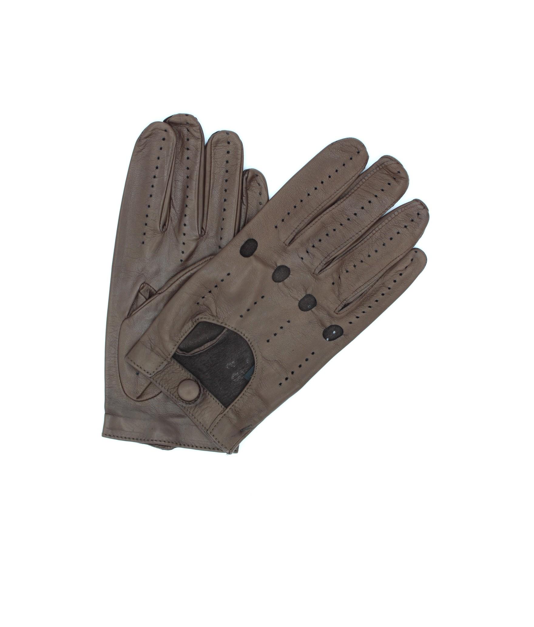 Guanto da Guida in Nappa dita intere Mink Sermoneta Gloves