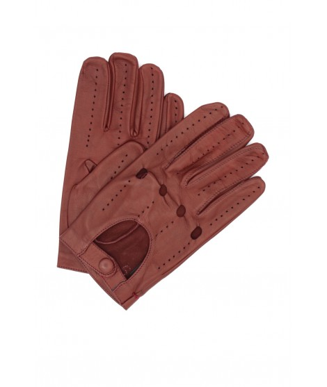 Guanto da Guida in Nappa dita intere Bordeaux Sermoneta Gloves