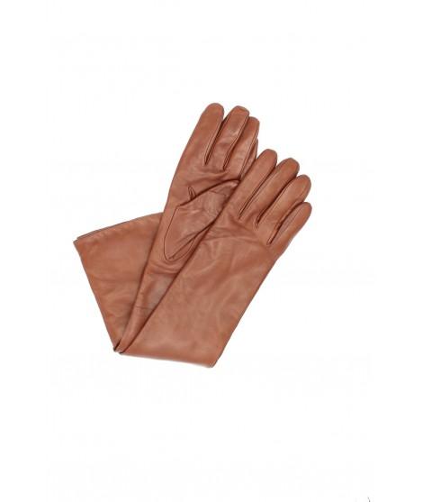 Nappa leather gloves cashmere lined 10bt Tan Sermoneta Gloves
