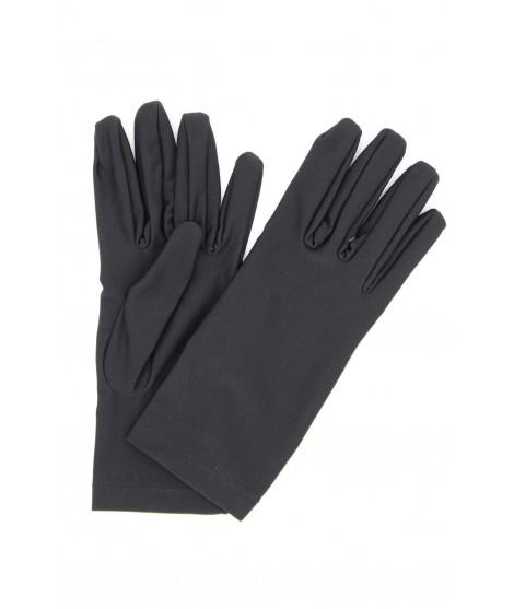 Glove Lycra Black Sermoneta Gloves Leather