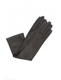 Nappa leather gloves 10bt silk lined Black Sermoneta Gloves