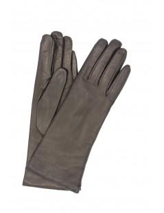 Nappa leather gloves 4bt cashmere lined Black Sermoneta Gloves