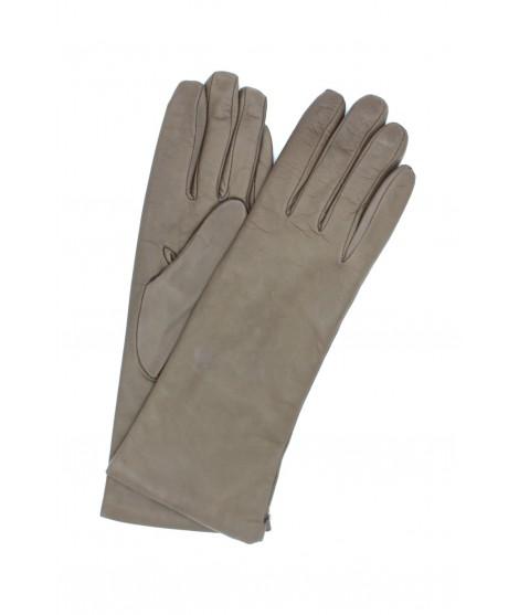 Nappa leather gloves 4bt cashmere lined Mud Sermoneta Gloves