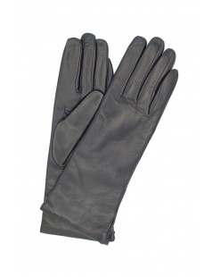 Nappa leather gloves 4bt cashmere lined Navy Sermoneta Gloves