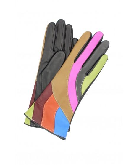 Nappa leather gloves cashmere lined Multicolor Sermoneta Gloves
