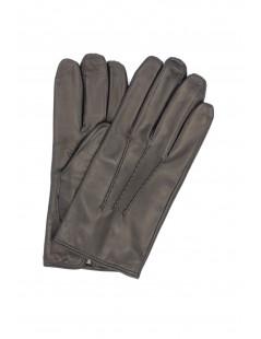 Nappa leather gloves cashmere lined Black Sermoneta Gloves