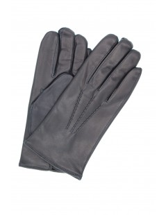 Nappa leather gloves cashmere lined Navy Sermoneta Gloves
