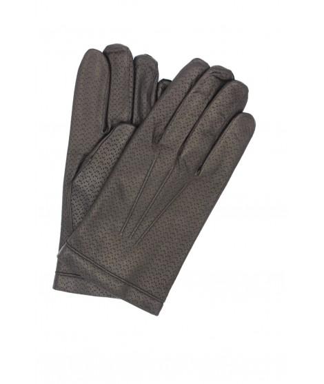 Guanto in Nappa 2bt foderato cashmere Nero Sermoneta Gloves