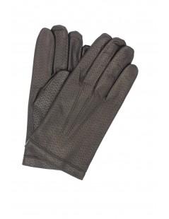Nappa leather gloves 2bt cashmere lined Black Sermoneta Gloves