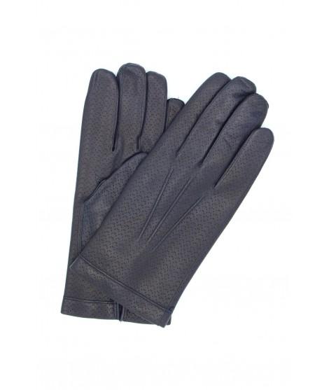 Guanto in Nappa 2bt foderato cashmere Navy Sermoneta Gloves