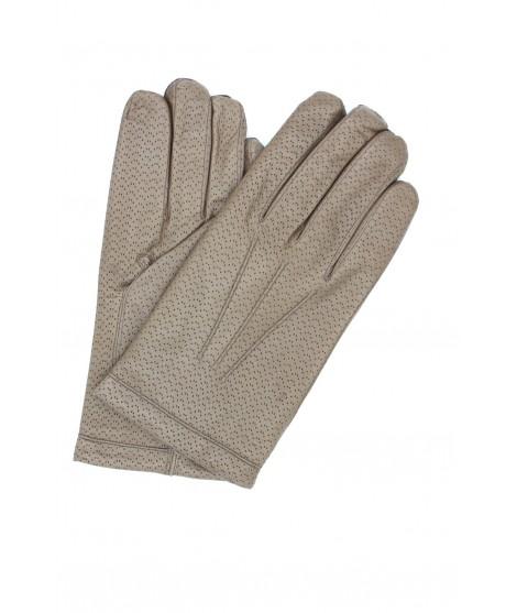 Guanto in Nappa 2bt foderato cashmere Fango Sermoneta Gloves