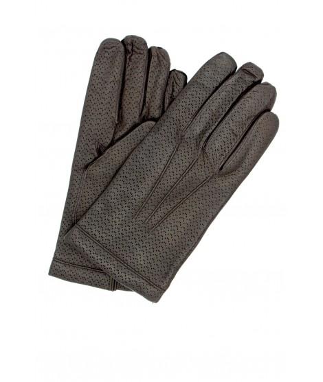 Guanto in Nappa 2bt foderato cashmere T.Moro Sermoneta Gloves