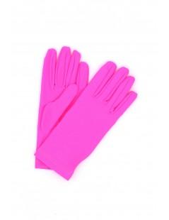 Glove Lycra Pink Sermoneta Gloves Leather