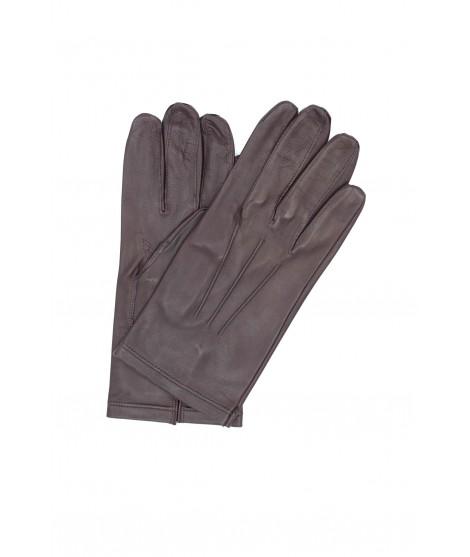 Nappa leather gloves unlined Bordeaux Sermoneta Gloves Leather