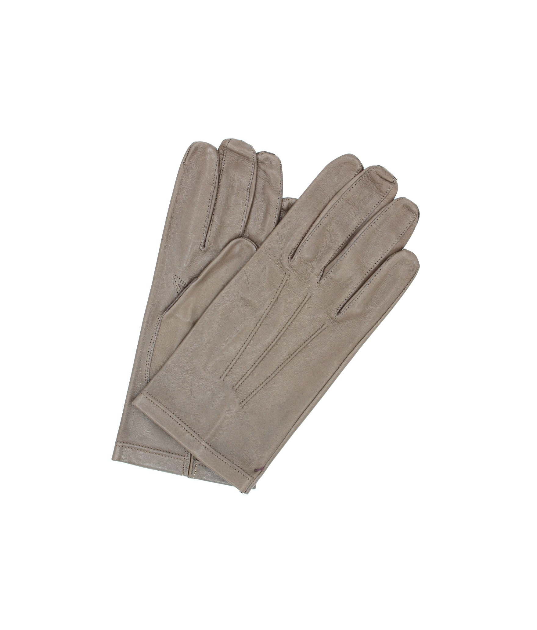 Nappa leather gloves unlined Mud Sermoneta Gloves Leather